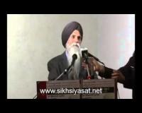 S. AJmer SIngh Speech