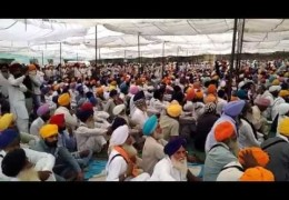 Bargari 25 OCT: Thousands of Sikhs pay tributes to Sikh youth killed in police firing