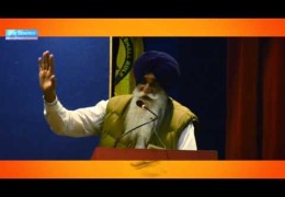Bhai Harpal Singh Cheema's speech during Sikh Youth of Punjab Conference