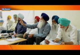Press Conference by Sikh Personalities on Capt. Amarinder's Comment about Harjit Singh Sajjan