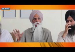 Panth-Punjab: Contemporary Situation and Solution (2) – A Lecture By Bhai Ajmer Singh at Talwandi Sabo Samvad